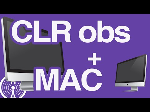 CLR Browser Source Plugin OBS - Mac OSX,  How to install