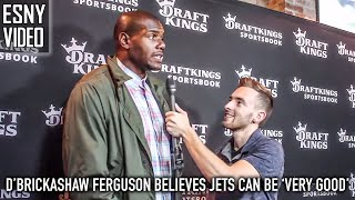 D'Brickashaw Ferguson Believes The New York Jets Can Be 'Very Good' | ESNY Video