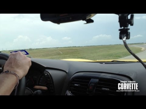 Behind the Scenes lap with High Tech Corvette