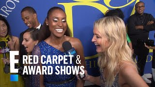 Issa Rae Spills on Hosting the 2018 CFDA Awards | E! Live from the Red Carpet