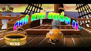 Game chú khỉ buồn 11 - Video hướng dẫn chơi game 24H