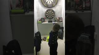 3 Year Old Dart Player