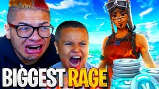 WORLD'S BEST 10 YR OLD FORTNITE PLAYER RAGES HARDER THAN EVER!! FORTNITE BATTLE ROYALE FUNNY MOMENTS