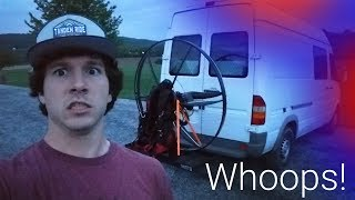 How I Accidentally Evaded The Police On My Paramotor...