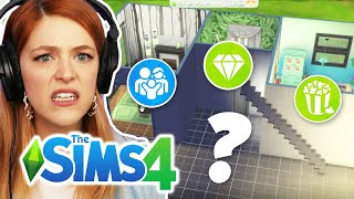 Trying The Sims 4 But Every Room Is A Different Pack Challenge