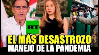MEDIO INTERNACIONAL CALIFICA A PERÚ COMO EL PAÍS CON EL MÁS DESASTR0ZO MANEJO DE LA PANDEMIA