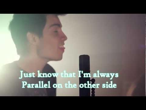 Mirrors (Lyrics On Screen) - Sam Tsui & Kurt Schneider Cover