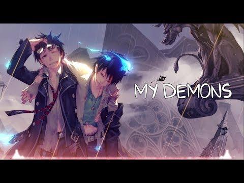 Nightcore - My Demons (Lyrics)
