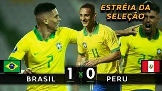 ESTRÉIA COM VITÓRIA | Brasil 1 x 0 Peru - Melhores Momentos (HD) - Pré-Olímpico 2020