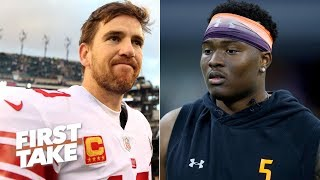 'The Giants would be insane' if they pass on Dwayne Haskins - Max Kellerman   First Take