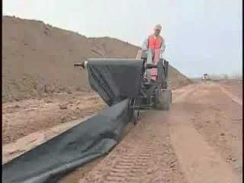 Ditch Witch Silt Fence Installer Youtube