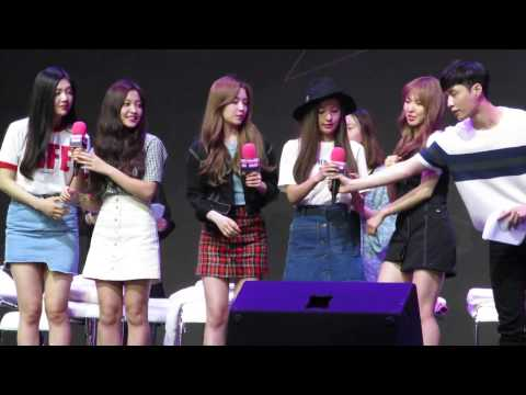[Fancam] 150615 Red Velvet & Lay & Zhoumi at SUPERSTAR SMTOWN Fanmeeting in Beijing 2