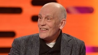 John Malkovich on finding a woman in his garden - The Graham Norton Show - BBC One