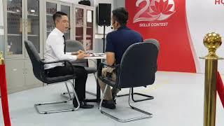 Toyota SSC 2018 - Phần thi kỹ năng tư vấn bán hàng của đại lý Toyota Thăng Long