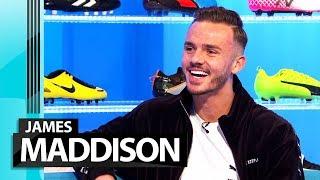 James Maddison on Brendan Rodgers revolution, pranking Demarai Gray & singing Enrique!