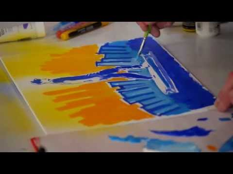 The Professional Acrylic Paint System
