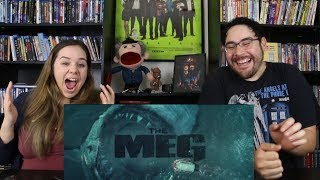 The Meg - Official Trailer Reaction / Review