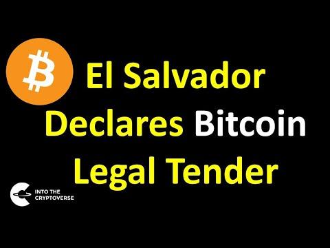 El Salvador Declares Bitcoin Legal Tender (Implications on the Market Cycle)