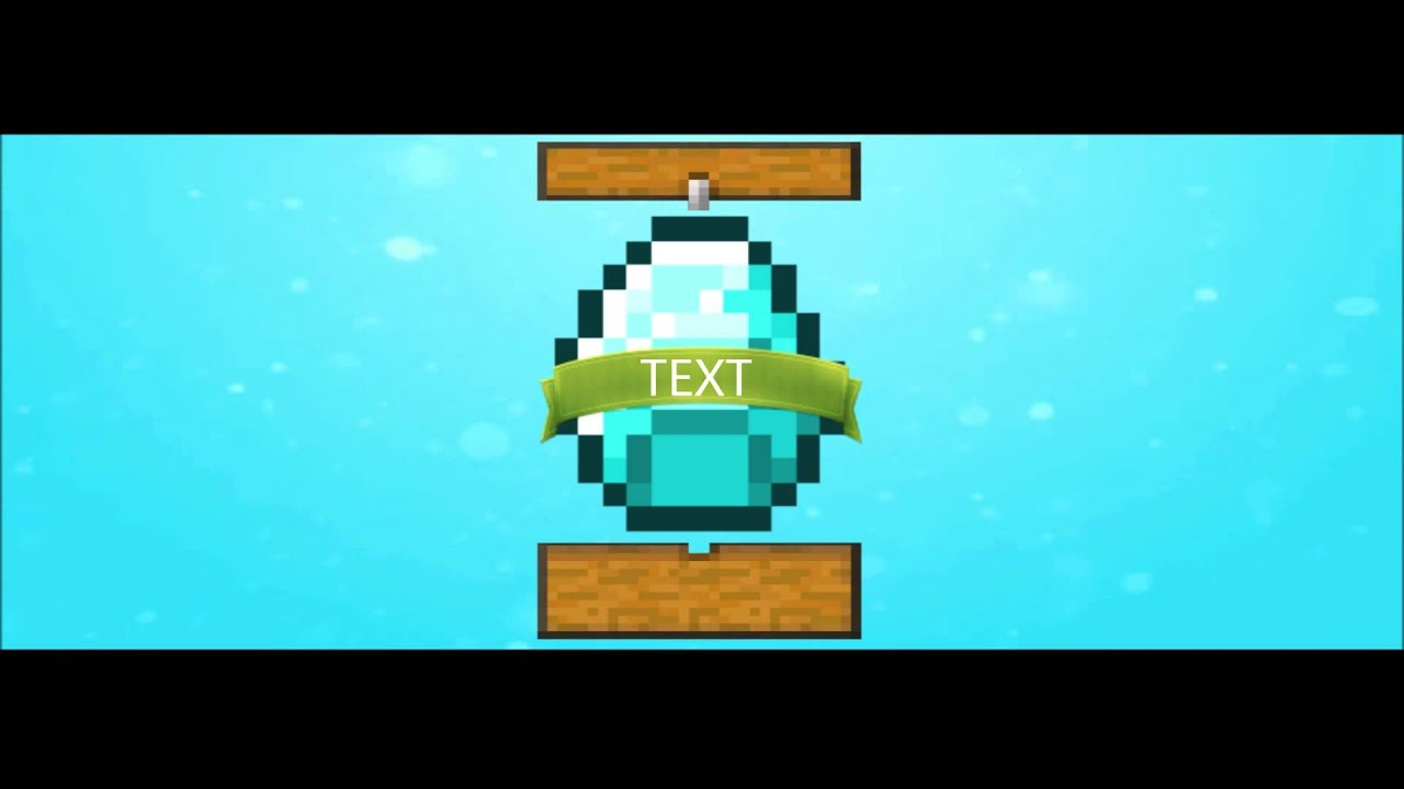 minecraft outro template movie maker - how to make an epic minecraft intro with movie maker