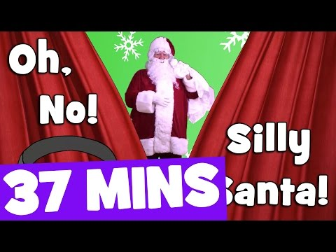 Silly Santa Song and More | 37mins Christmas Songs Collection for Kids