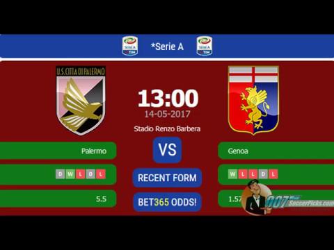 US Palermo vs Genoa