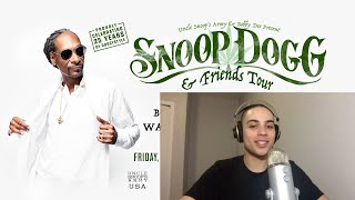 Snoop Dogg Concert Review |  Kurupt, Bone Thugs N Harmony, Warren G | Edmonton | Cassius Morris Show
