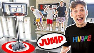 JUMP OR LOSE! Simon Says Mini Hoop Basketball