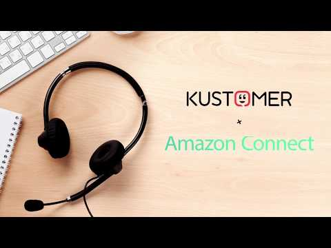 Kustomer and Amazon Connect deliver a customized voice experience through personalized IVR trees while increasing your contact center productivity with a single omnichannel support platform for voice, email, text, chat and social messaging.