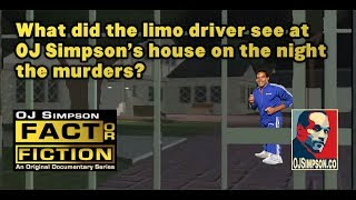 What did limo driver Allan Park see at OJ Simpson's house? [OJ Simpson: Fact or Fiction? Ep. 19]