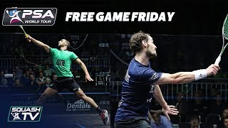 ABSOLUTELY EPIC SQUASH GAME - Gaultier v Abouelghar - Free Game Friday