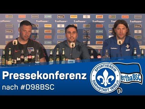 Darmstadt 98 vs Hertha BSC