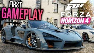Forza Horizon 4 - EXCLUSIVE GAMEPLAY!!