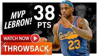 Throwback: MVP LeBron James Full Highlights vs Celtics (2009.01.09) - 38 Pts, 7 Reb, 6 Ast!