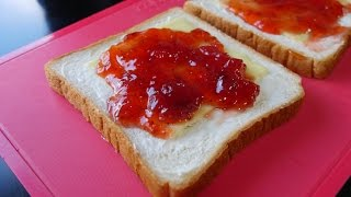Strawberry Jam and Cream Cheese Sandwich Maker Recipes