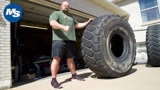World's Strongest Man Brian Shaw's Home Gym & Trophy Tour