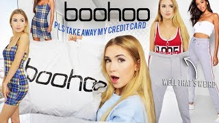 I SPENT $500 ON BOOHOO | Please take my credit card away...