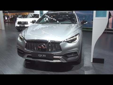 Infiniti QX30 2.2D AWD DCT (2017) Exterior and Interior in 3D