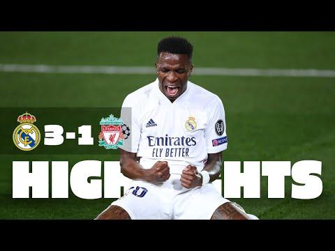 Two-goal hero Vini Jr.!   Real Madrid 3-1 Liverpool   HIGHLIGHTS