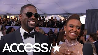 Sterling K. Brown's Wife Asks Him 'What Would Randall Do?' When He's Being A 'Subpar' Hubby | Access