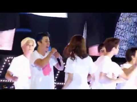 【FeaH si】140815 SMTown Ending - Donghae YoonA