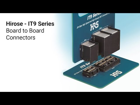 Hirose: IT9 Series Board to Board Connectors