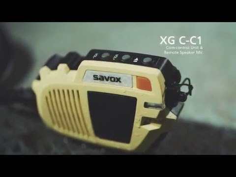 Savox XG C C1 Remote Speaker Microphone