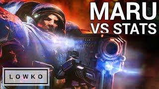 StarCraft 2: HIGHEST LEVEL Terran vs Protoss - Maru vs Stats!
