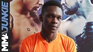 UFC 234: Israel Adesanya full pre-fight interview with John Morgan