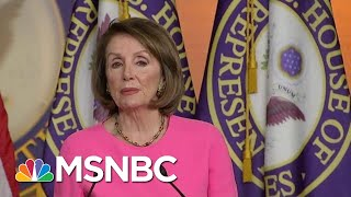 Feud Between Nancy Pelosi, Donald Trump Administration Hits New High | Andrea Mitchell | MSNBC