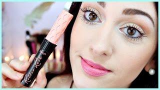 NEW! Benefit Roller Lash Mascara Demo + Review