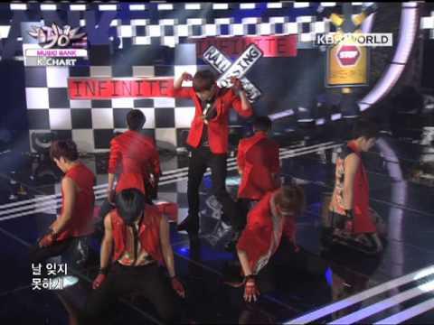 [Music Bank K-Chart] Infinite - The Chaser (2012.05.18)