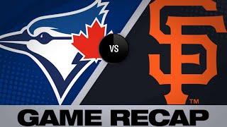 5/14/19: Vlad Jr. homers twice in win over Giants