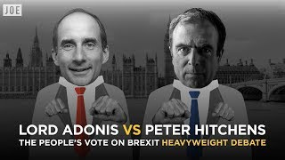 People's Vote Brexit debate: Peter Hitchens vs Lord Andrew Adonis