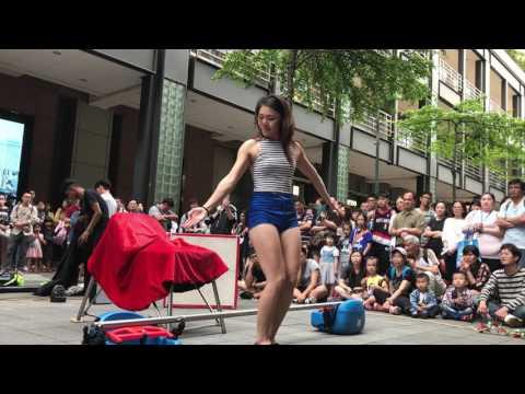信義街頭藝人 - 立微 表演項目:足技